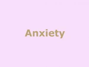 Anxiety Ongar
